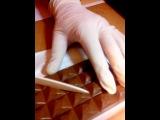 Опыт с шоколадкой наооборот